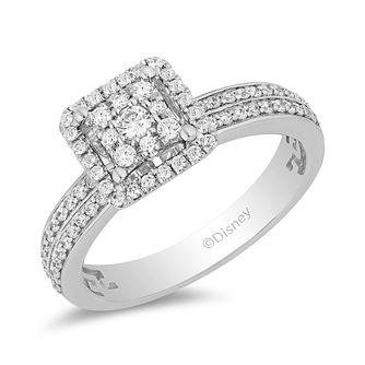Enchanted Disney Fine Jewelry 0.50ct Diamond Mulan Ring - Product number 4979524