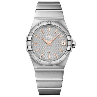 Omega Constellation Men's Stainless Steel Bracelet Watch - Product number 4981278