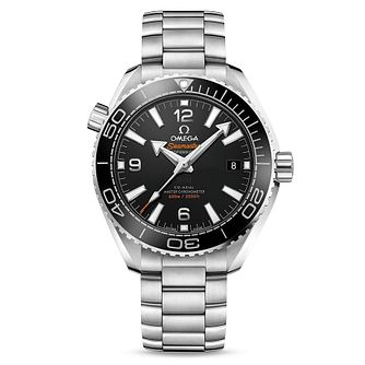 Omega Seamaster Planet Ocean Men's Steel Bracelet Watch - Product number 4981316