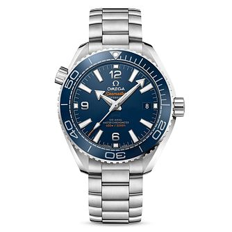Omega Seamaster Planet Ocean Men's Steel Bracelet Watch - Product number 4981324