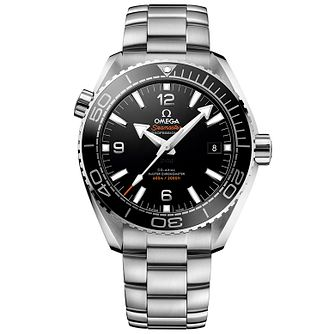 Omega Seamaster Planet Ocean Men's Steel Bracelet Watch - Product number 4981340