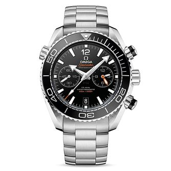 Omega Seamaster Planet Ocean Men's Steel Bracelet Watch - Product number 4981383