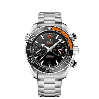 Omega Seamaster Planet Ocean Men's Steel Bracelet Watch - Product number 4981391