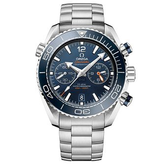 Omega Seamaster Planet Ocean Men's Steel Bracelet Watch - Product number 4981405