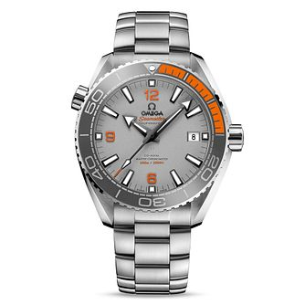 Omega Seamaster Planet Ocean Men's Steel Bracelet Watch - Product number 4981480
