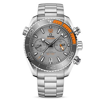 Omega Seamaster Planet Ocean Men's Steel Bracelet Watch - Product number 4981499