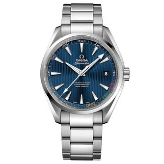 Omega Aqua Terra Olympic Edition Men's Steel Bracelet Watch - Product number 4981650