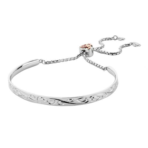 Clogau Silver 9ct Rose Gold Tree of Life Friendship Bracelet - Product number 4994949