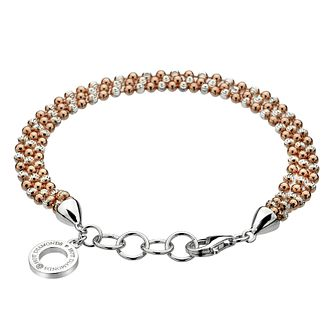 Hot Diamonds Rose Gold Plated Bead Bracelet - Product number 5001021