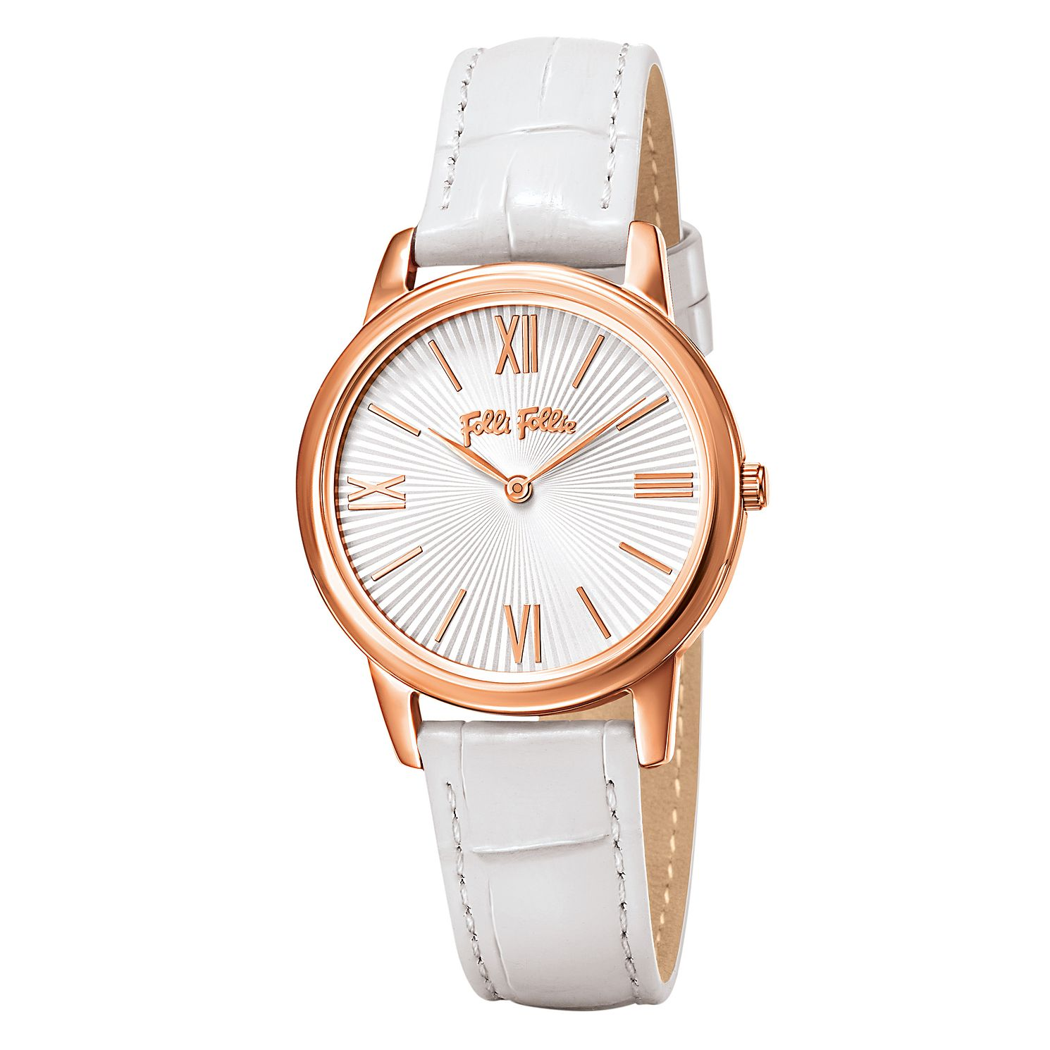 Folli Follie Ladies' Rose Gold Plated Watch - Product number 5001692
