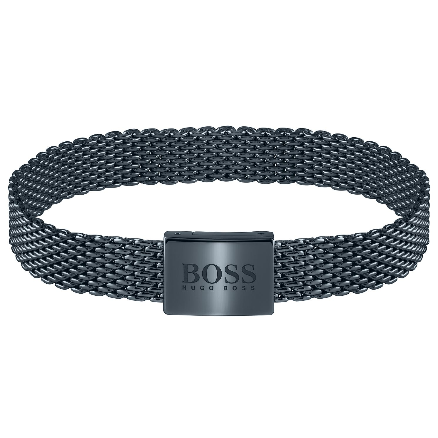 BOSS Essentials Men's Blue IP Mesh Bracelet - Product number 5004012