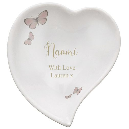 Personalised Secret Garden Ceramic Ring Dish - Product number 5004756