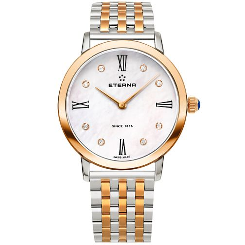 Eterna Ladies' Eternity Two Colour Bracelet Watch - Product number 5004888