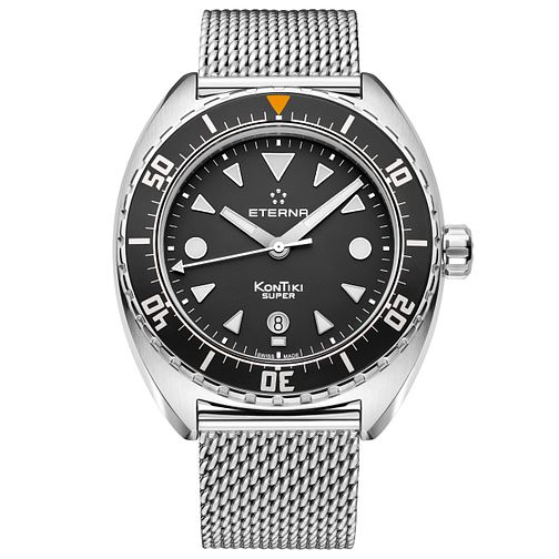 Eterna Men's Super KonTiki  Stainless Steel Bracelet Watch - Product number 5004942