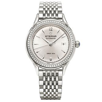 Eterna Ladies' Heritage Stainless Steel Bracelet Watch - Product number 5005094