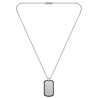 BOSS ID Men's Silicone Frame Dog Tag Pendant - Product number 5005388