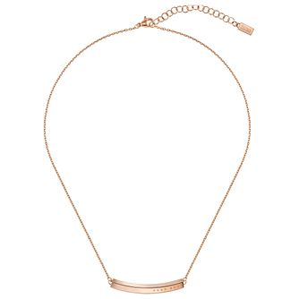 BOSS Insignia Ladies' Rose Gold Tone Necklace - Product number 5005485