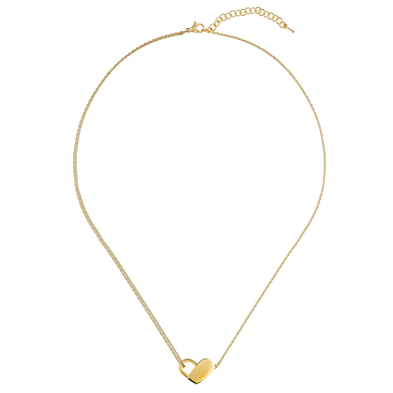 BOSS Soulmate Ladies' Yellow Gold Tone Pendant - Product number 5005760