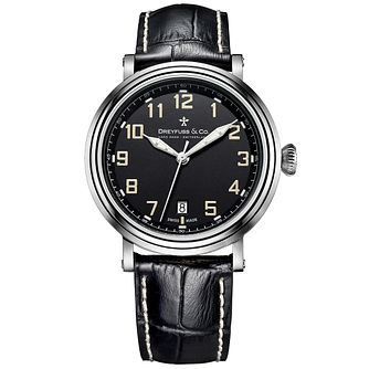 Dreyfuss & Co 1924 Men's Stainless Steel Strap Watch - Product number 5007569