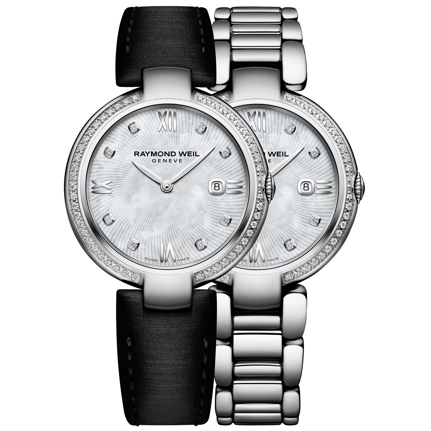 Raymond Weil Shine Ladies' Interchangeable Strap Watch - Product number 5007763