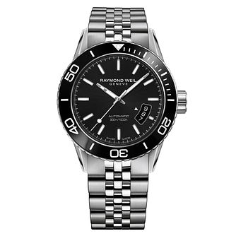 Raymond Weil Freelancer Men's Stainless Steel Bracelet Watch - Product number 5007852
