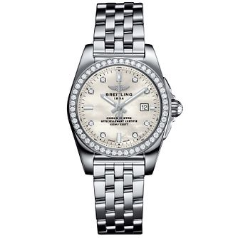 Breitling Galactic 29 Ladies' Stainless Steel Bracelet Watch - Product number 5007925