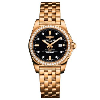 Breitling Galactic 29 Ladies' 18ct Rose Gold Bracelet Watch - Product number 5007984