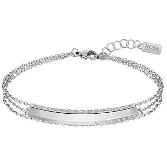 BOSS Insignia Ladies' Stainless Steel Chain Bracelet - Product number 5008271