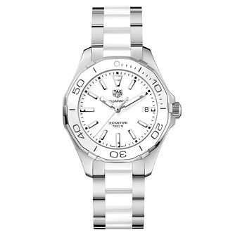 TAG Heuer Aquaracer Ladies' Two Colour Bracelet Watch - Product number 5008778