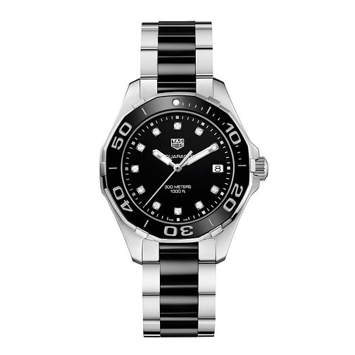 TAG Heuer Aquaracer Ladies' Two Colour Bracelet Watch - Product number 5008786