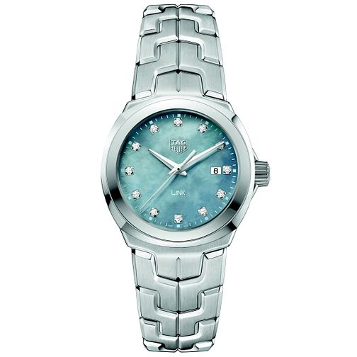 TAG Heuer Link Ladies' Stainless Steel Bracelet Watch - Product number 5008891