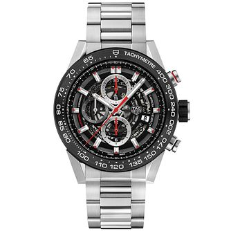 TAG Heuer Carrera Men's Stainless Steel Bracelet Watch - Product number 5008921