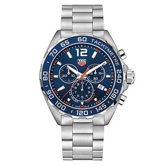 TAG Heuer Formula 1 Men's Stainless Steel Bracelet Watch - Product number 5009022