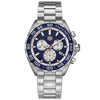 TAG Heuer Formula 1 Men's Stainless Steel Bracelet Watch - Product number 5009367
