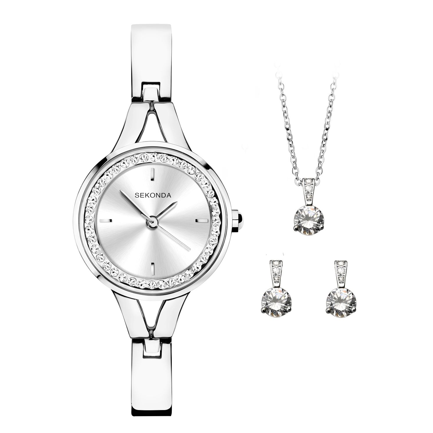 Sekonda Crystal Ladies' Watch & Jewellery Gift Set - Product number 5011167