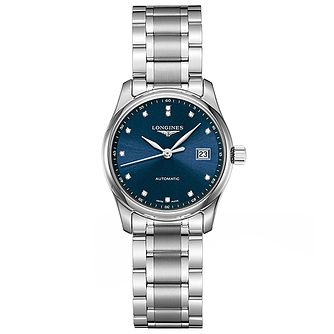 Longines Master Collection Ladies' Blue Dial Bracelet Watch - Product number 5011361