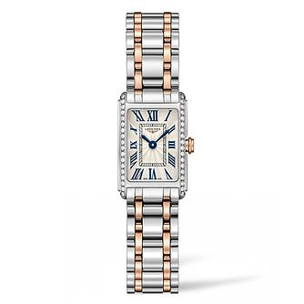 Longines DolceVita Ladies' Diamond Two Colour Bracelet Watch - Product number 5011450