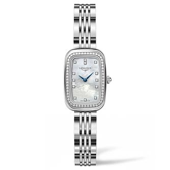 Longines Equestrian Ladies' Diamond Bracelet Watch - Product number 5011469