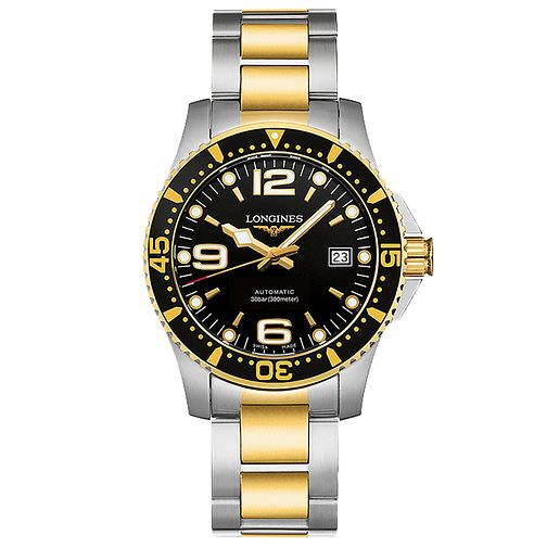 Longines HydroConquest Men's Two Colour Bracelet Watch - Product number 5011515