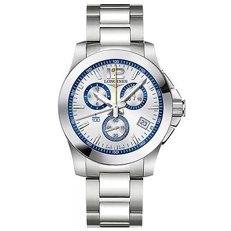 Longines Conquest Men's Chronograph Bracelet Watch - Product number 5011663