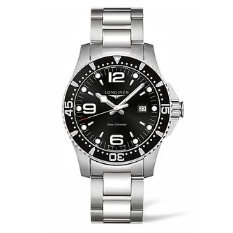 Longines HydroConquest Men's Black Dial Bracelet Watch - Product number 5011760