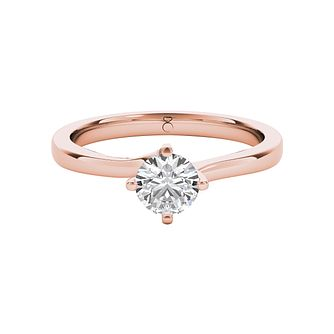 The Diamond Story 18ct Rose Gold 1/3ct Diamond Ring - Product number 5015359