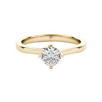 The Diamond Story 18ct Yellow Gold 0.33ct Diamond Ring - Product number 5015480