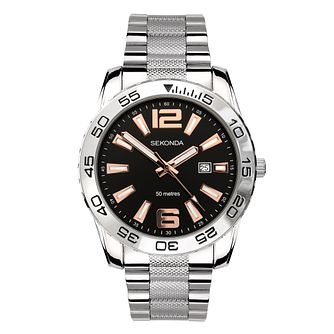 Sekonda Men's Stainless Steel Bracelet Watch - Product number 5016053
