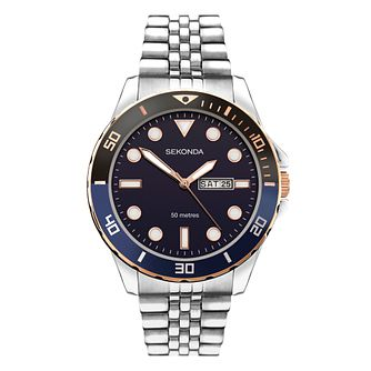 Sekonda Men's Stainless Steel Bracelet Watch - Product number 5016061