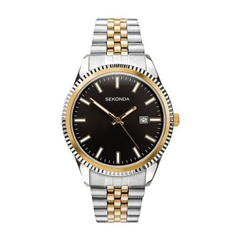 Sekonda Men's Two Tone Bracelet Watch - Product number 5016142