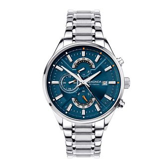 Sekonda Chronograph Men's Stainless Steel Bracelet Watch - Product number 5016177