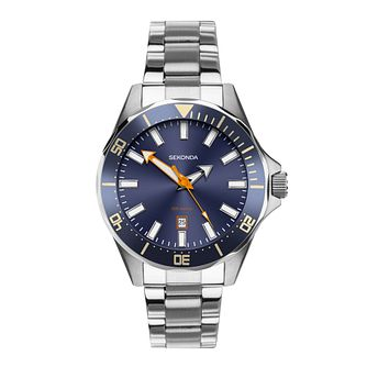 Sekonda Men's Stainless Steel Bracelet Watch - Product number 5016231
