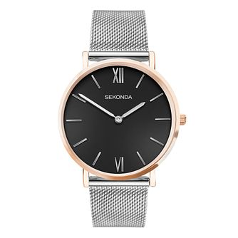 Sekonda Ladies' Stainless Steel Mesh Bracelet Watch - Product number 5016398