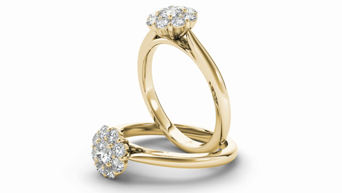 1fe7ecc2546 made to order. The Diamond Story 18ct Yellow Gold 1 2ct Diamond Ring - Product  number 5016886